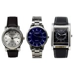 more details on Constant Men's Set of 3 Watches.