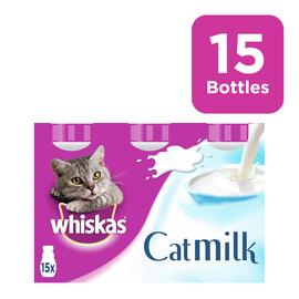 Whiskas Cat Treat Milk Bottles 15x200ml