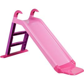 Chad Valley 4ft Kids Garden Slide - Pink