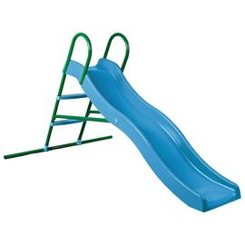 Chad Valley 6ft Wavy Slide - Blue