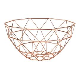 Argos Home Fruit Bowl - Rose Gold