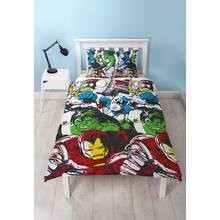Disney Marvel Comics Squad Bedding Set - Single