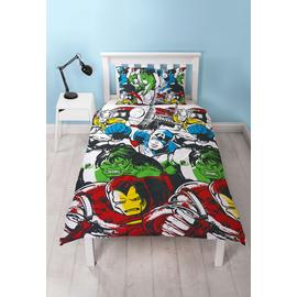 Disney Marvel Comics Squad Bedding Set - Single