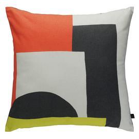 Habitat Miro 45 x 45cm Patterned Cushion - Multicoloured