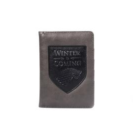 Game of Thrones Winter Is Coming Passport Holder