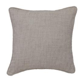 Argos Home Textured Weave Cushion - Natural