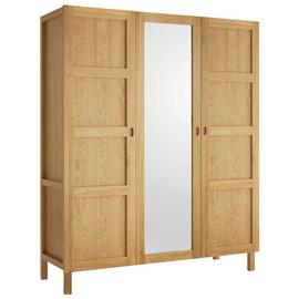 Habitat Radius 3 Door Oak Wardrobe