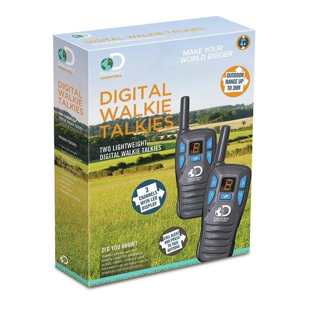 Buy Discovery Adventures Channel Walkie Talkies | Kids telephones and  walkie talkies | Argos