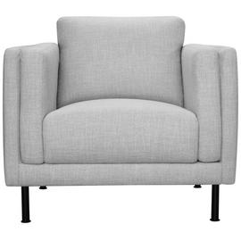 Argos Home Hugo Fabric Armchair - Silver