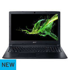 Acer Aspire 3 15.6 Inch AMD E2 4GB 1TB Laptop - Black