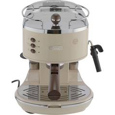 De'Longhi ECOV310BG Vintage Espresso Coffee Machine - Cream