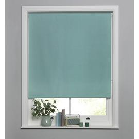 Argos Home Blackout Roller Blind - Duck Egg