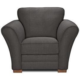 Argos Home New Thornton Fabric Armchair - Charcoal