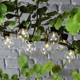 Habitat Solar 20 Festoon Warm White Lights