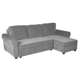 Argos Home Addie Reversible Corner Fabric Sofa - Grey