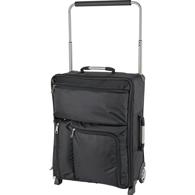 Buy IT World's Lightest 2 Wheel Cabin Case - Charcoal at Argos.co ...