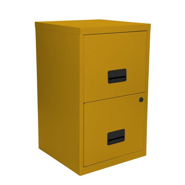 new product 7b719 d74da Buy Pierre Henry 2 Drawer Metal Filing Cabinet - Mustard Yellow | Filing  cabinets and office storage | Argos