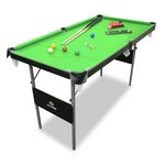 more details on Snooker and Pool Table - 4ft 6in