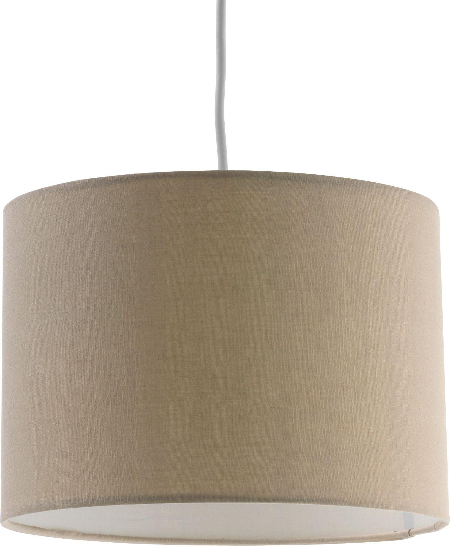 Marvelous HOME Fabric Light Shade   Cafe Mocha