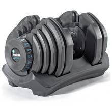 Men's Health Cast Iron Adjustable Single Dumbbell - 40kg