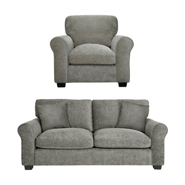 Buy Argos Home Tammy Fabric Chair And 3 Seater Sofa Sofa Sets