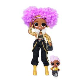 LOL Surprise OMG Winter Disco 24K D.J Fashion Doll & Sister