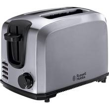 Russell Hobbs 20880 Compact 2 Slice Toaster - St Steel