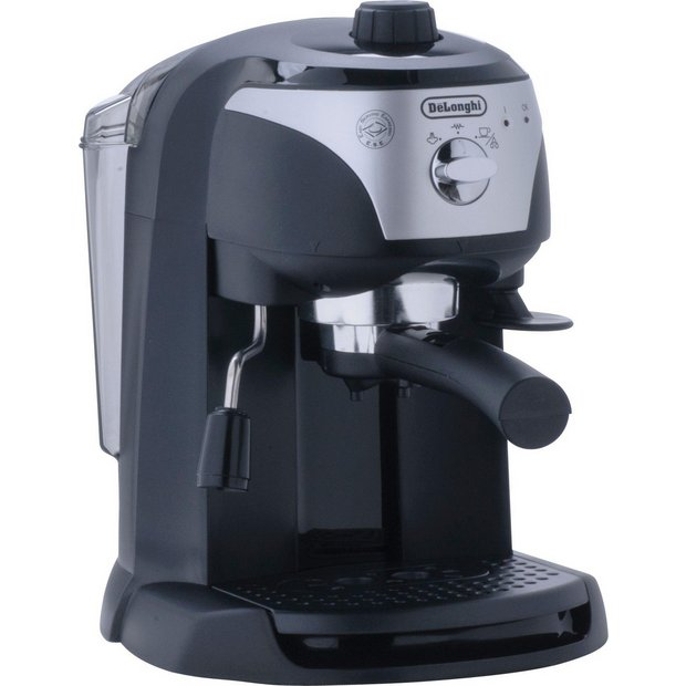 Press Coffee Maker Argos : Buy De Longhi ECC220.B Motivo Espresso Cappuccino Maker - Black at Argos.co.uk - Your Online ...