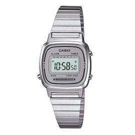 Casio Ladies' Chrome Look Digital Watch