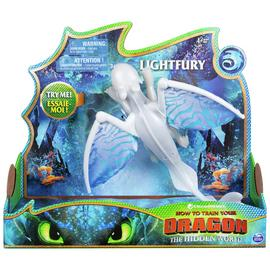 DreamWorks Dragons 3 Deluxe Dragon Lightfury