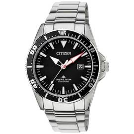 8c1857d39 Citizen Eco-Drive Men's Steel Rotating Bezel Divers Watch