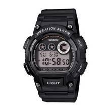 Casio Men's Black Resin Strap Vibration Alarm Watch