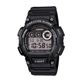 Casio Men's Black Resin Strap Vibration Alarm Watch