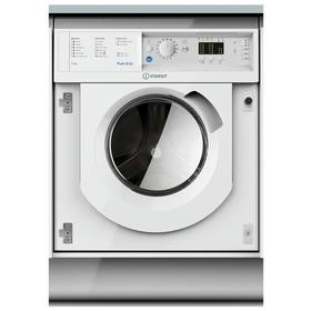 Indesit BIWDIL7125 7KG / 5KG 1200 Spin Washer Dryer - White