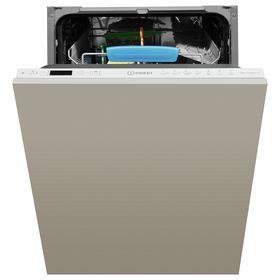 Indesit DSIO3T224EZUK Slimline Integrated Dishwasher - Grey