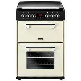 Stoves Richmond 600E 60cm Double Electric Cooker - Cream