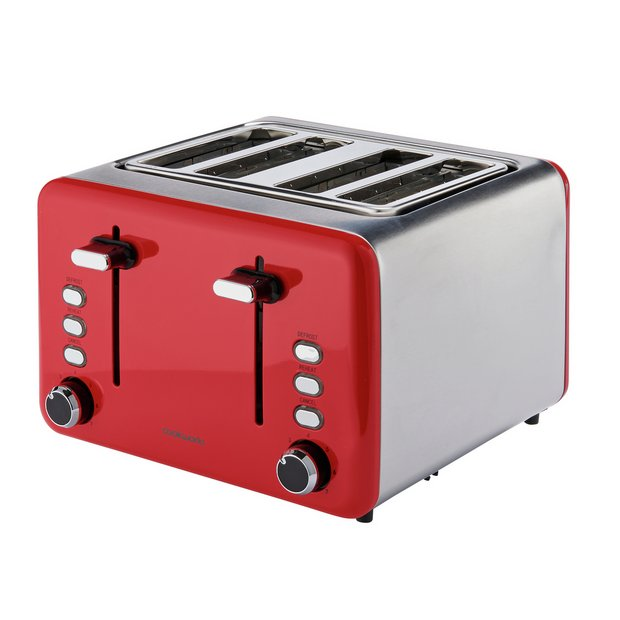 Cook Works 4 Slice Toaster