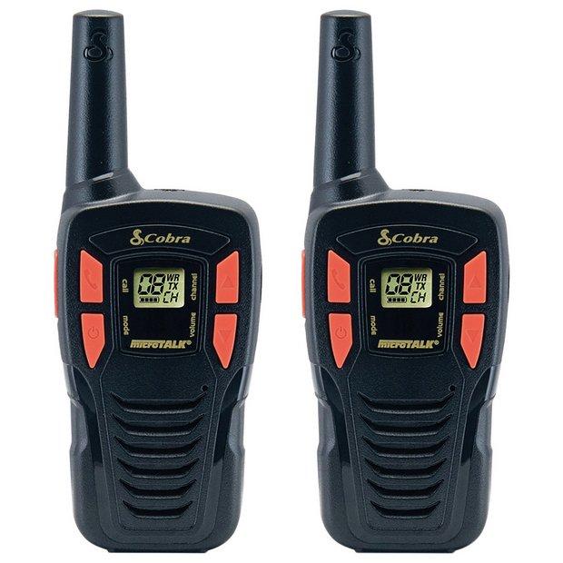 Cobra AM245 PMR 2-Way Radio - Twin