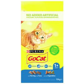 Go-Cat Adult Cat Food Herring Tuna And Veg 10kg