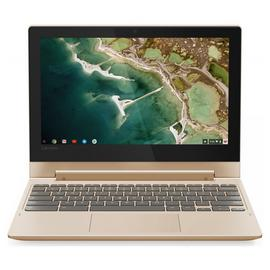 Lenovo C330 11.6 Inch 4GB 32GB 2-in-1 Chromebook - Gold