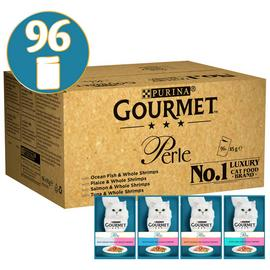 Gourmet Perle Cat Food With Shrimp 96x85g
