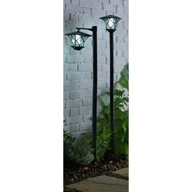 Argos Home Set of 2 Solar Lamp Posts