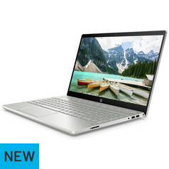 HP Pavilion 15.6 Inch i3 8GB 128GB Full HD Laptop - Silver