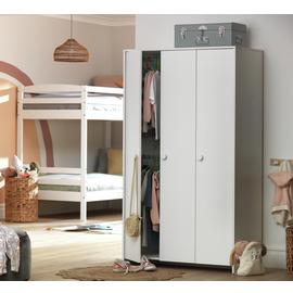 Argos Home Juno 3 Door Wardrobe - White