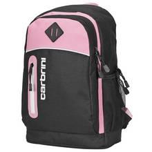 Carbrini 19L Backpack - Black and Pink
