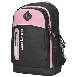 Carbrini 19L Backpack - Black and Pink