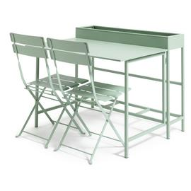 Habitat Trough 2 Seater Bistro Set - Green