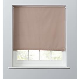 Argos Home Blackout Roller Blind - Blush