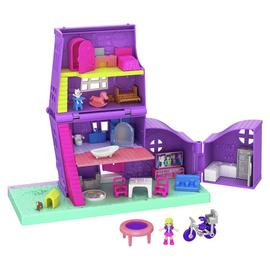 Polly Pocket Pocket House with Accessories & Micro Dolls
