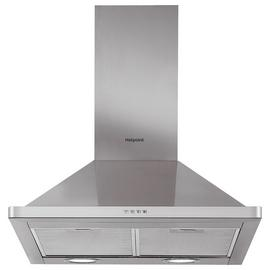 Hotpoint PHPN6.5FLMX 60cm Cooker Hood - Stainless Steel
